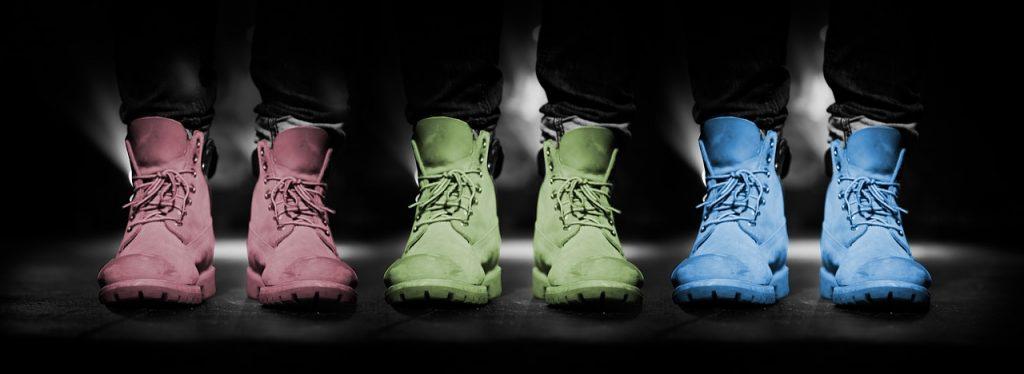 Choisir une bonne paire de chaussure.